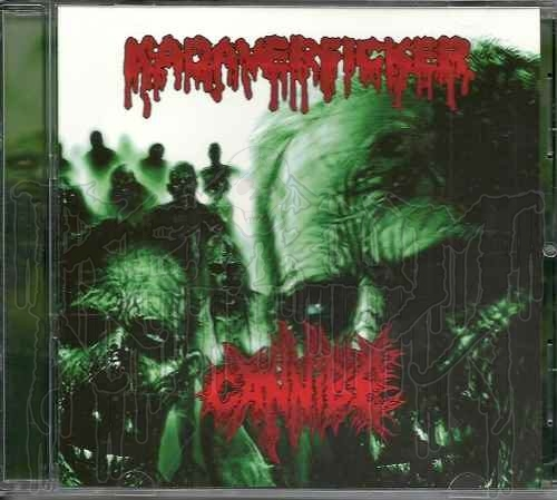 CANNIBE / KADAVERFICKER - Split C.D.