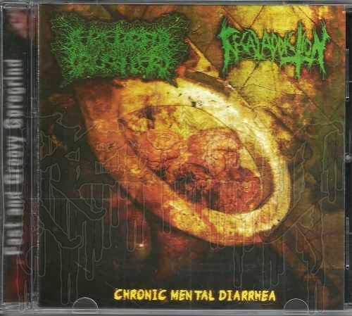 CEREBRAL CRUSHER / FECAL ADDICTION - Split C.D.