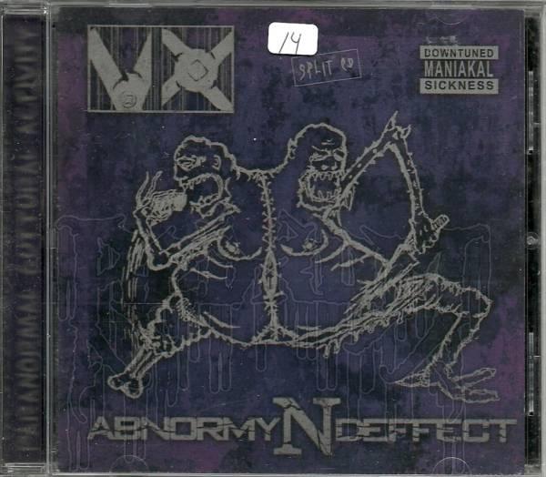 VX / ABNORMYNDEFFECT - Split C.D.