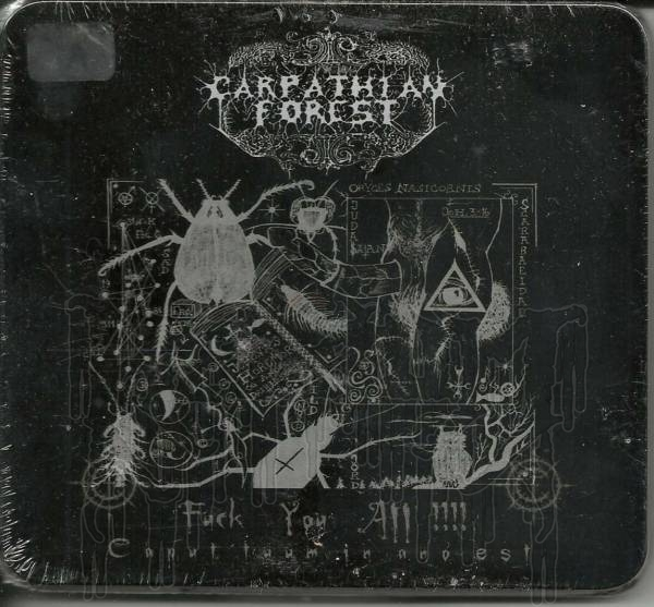 CARPATHIAN FOREST - Fuck You All (Limited Metal Box Version)