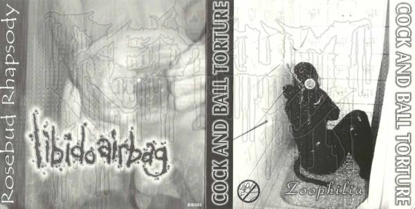 COCK AND BALL TORTURE / LIBIDO AIRBAG-Split C.D.