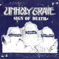 "UNHOLY GRAVE / IRON BUTTER-Split 7"" ep"