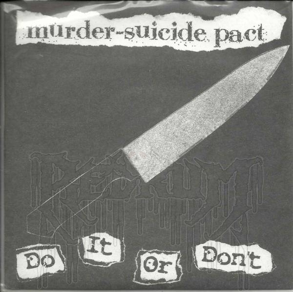 "MURDER-SUICIDE PACT-Do It Or Die 7""ep (Yellow Vinyl)"