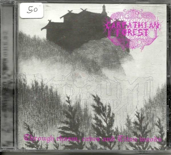 """CARPATHIAN FOREST - """"Through Chasm,Caves And Titan W"""