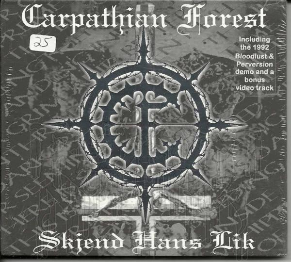 CARPATHIAN FOREST - Skjend Hans Lik (Limited Edition Digi - Pak)
