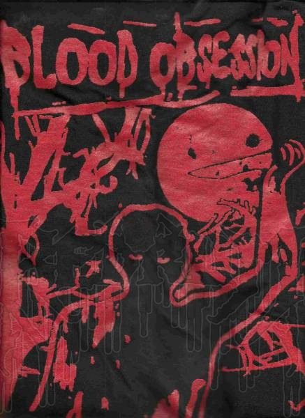 BLOOD OBSESSION-Raped And Consumed (2-Sided T-Shirt)